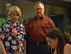 Madge Bishop, Harold Bishop, Hannah Martin in Neighbours Episode 3007