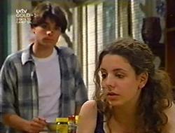 Paul McClain, Hannah Martin in Neighbours Episode 3007