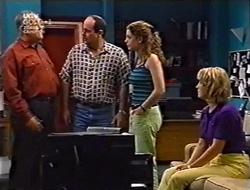 Harold Bishop, Philip Martin, Hannah Martin, Ruth Wilkinson in Neighbours Episode 3007