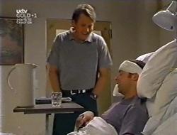 Geoff Burke, Ben Atkins in Neighbours Episode 3007