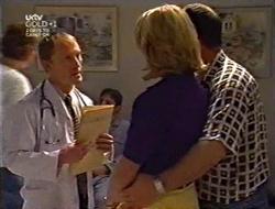 Dr. Shepherd, Ruth Wilkinson, Philip Martin in Neighbours Episode 3007
