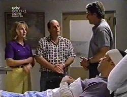 Ruth Wilkinson, Philip Martin, Geoff Burke, Ben Atkins in Neighbours Episode 3008