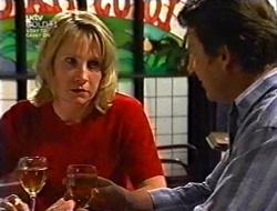 Ruth Wilkinson, Geoff Burke in Neighbours Episode 3008