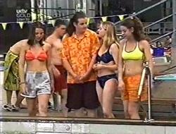 Toadie Rebecchi, Wendy Buchanan, Hannah Martin in Neighbours Episode 3008