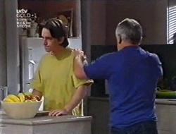 Darren Stark, Lou Carpenter in Neighbours Episode 3009