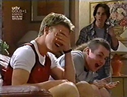 Billy Kennedy, Toadie Rebecchi, Darren Stark in Neighbours Episode 3009