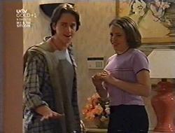 Darren Stark, Libby Kennedy in Neighbours Episode 3009