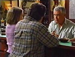 Libby Kennedy, Darren Stark, Lou Carpenter in Neighbours Episode 3009