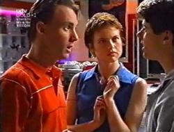 Perry Pinchen, Alison Nova, Lance Wilkinson in Neighbours Episode 3009