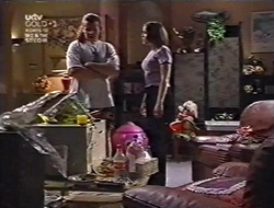 Toadie Rebecchi, Libby Kennedy in Neighbours Episode 3010
