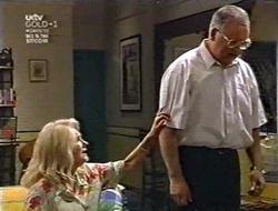 Madge Bishop, Harold Bishop in Neighbours Episode 3010