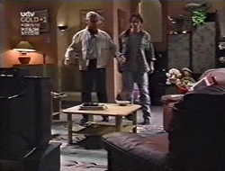 Lou Carpenter, Darren Stark in Neighbours Episode 3010