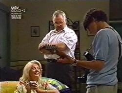 Madge Bishop, Harold Bishop, Paul McClain in Neighbours Episode 3010
