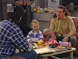 Darren Stark, Louise Carpenter (Lolly), Toadie Rebecchi in Neighbours Episode 3010