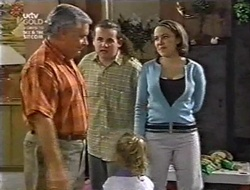 Lou Carpenter, Toadie Rebecchi, Libby Kennedy, Louise Carpenter (Lolly) in Neighbours Episode 3011
