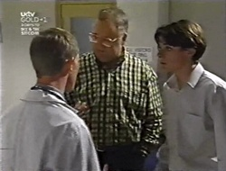Dr. Shepherd, Harold Bishop, Paul McClain in Neighbours Episode 3011