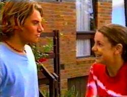Joel Samuels, Hannah Martin in Neighbours Episode 3112