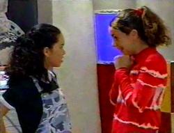 Zoe Tan, Hannah Martin in Neighbours Episode 3112