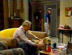 Fred Parkes, Bonnie, Anne Wilkinson in Neighbours Episode 3112