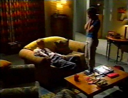 Fred Parkes, Anne Wilkinson in Neighbours Episode 3113