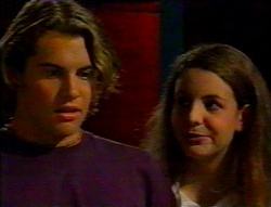 Joel Samuels, Hannah Martin in Neighbours Episode 3113