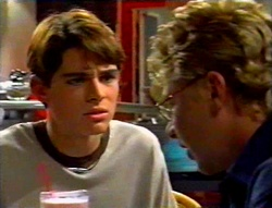 Paul McClain, Patrick Greenwood in Neighbours Episode 3113