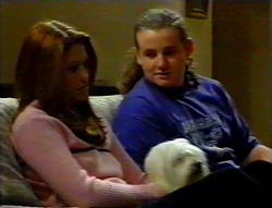 Sarah Beaumont, Bob, Toadie Rebecchi in Neighbours Episode 3113