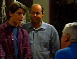Paul McClain, Philip Martin, Lou Carpenter in Neighbours Episode 3115