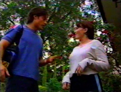 Drew Kirk, Libby Kennedy in Neighbours Episode 3115