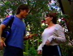 Drew Kirk, Libby Kennedy in Neighbours Episode 3115