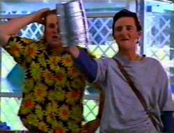 Toadie Rebecchi, Ted Long in Neighbours Episode 3115