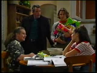 Toadie Rebecchi, Alex Fenton, Joel Samuels, Sarah Beaumont in Neighbours Episode 3141