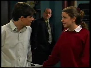 Paul McClain, Philip Martin, Hannah Martin in Neighbours Episode 3141