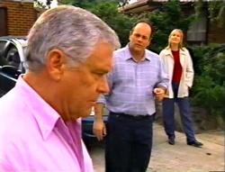 Lou Carpenter, Philip Martin, Ruth Wilkinson in Neighbours Episode 3414