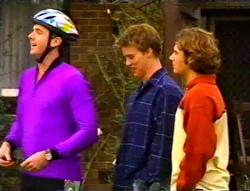 Karl Kennedy, Billy Kennedy, Joel Samuels in Neighbours Episode 3415