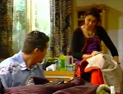 Toadie Rebecchi, Charlie Thorpe in Neighbours Episode 3415
