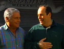 Lou Carpenter, Philip Martin in Neighbours Episode 3415