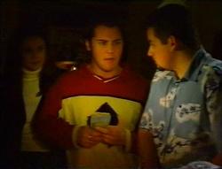 Natalie Rigby, Joel Samuels, Toadie Rebecchi in Neighbours Episode 3415