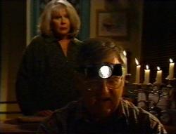 Madge Bishop, Harold Bishop in Neighbours Episode 3416