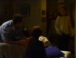 Toadie Rebecchi, Charlie Thorpe, Joel Samuels, Lance Wilkinson in Neighbours Episode 3416