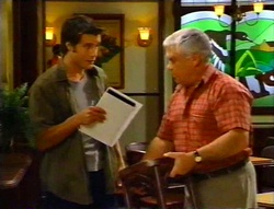 Drew Kirk, Lou Carpenter in Neighbours Episode 3420