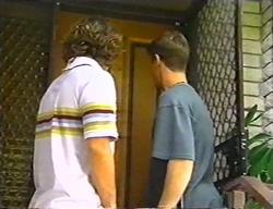 Joel Samuels, Lance Wilkinson in Neighbours Episode 3441