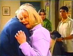 Harold Bishop, Madge Bishop, Tad Reeves, Paul McClain in Neighbours Episode 3441