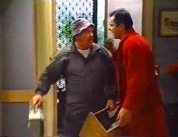 Jock Finch, Karl Kennedy in Neighbours Episode 3441