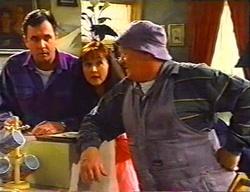 Karl Kennedy, Susan Kennedy, Jock Finch in Neighbours Episode 3441