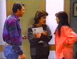 Karl Kennedy, Lyn Scully, Susan Kennedy in Neighbours Episode 3441