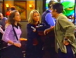 Libby Kennedy, Steph Scully, Drew Kirk in Neighbours Episode 3442