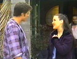 Drew Kirk, Geri Hallet in Neighbours Episode 3443