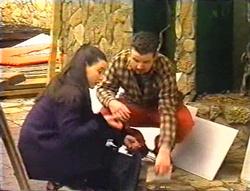 Geri Hallet, Toadie Rebecchi in Neighbours Episode 3443