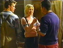 Billy Kennedy, Amy Greenwood, Toadie Rebecchi in Neighbours Episode 3443
